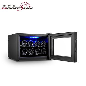 BCW-23A Wholesale 8 Bottle Thermoelectric Countertop Wine Chiller Cooler, Red Wine Refrigerator