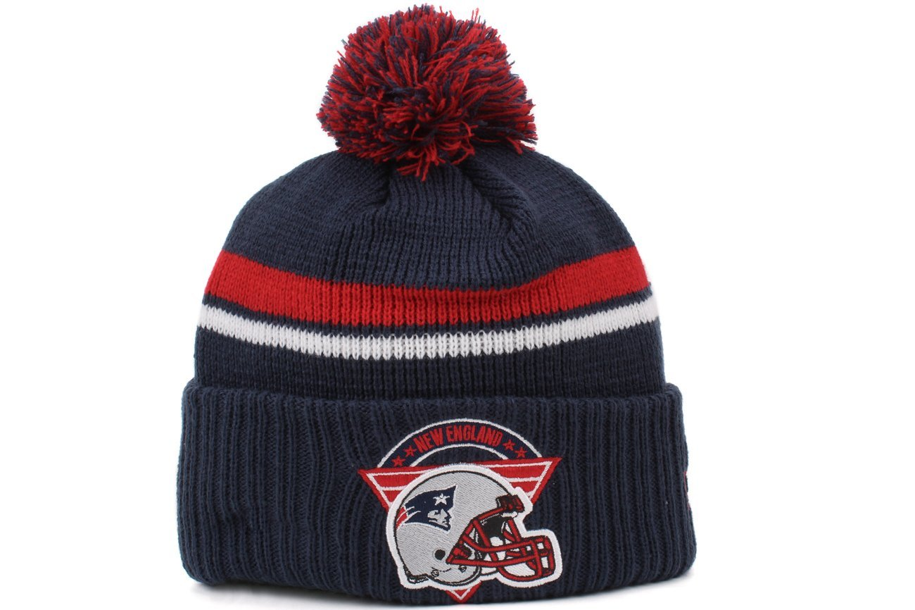 a559b13a926ad Get Quotations · New Era Team Stacker NFL New England Patriots Cuffed Knit  Beanie