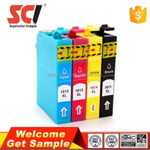 Supricolor 18XL ink cartridge compatible for Epson Expression Home XP-30 XP-102 XP-202 XP-302 XP-402 XP-205 XP-305 XP-405