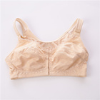 Women's Full Coverage Lace Plus Size Front Closure Cotton Bra