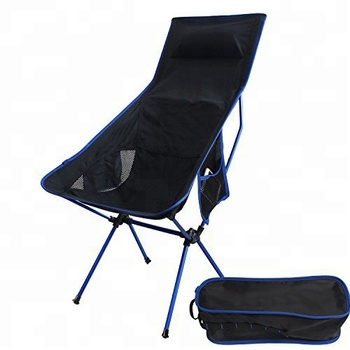Lightweight Folding High Back Camping Chair With Headrest For Outdoor Picnic Hiking Backpacking Beach Buy High Back Camping Chair Heavy Duty Folding