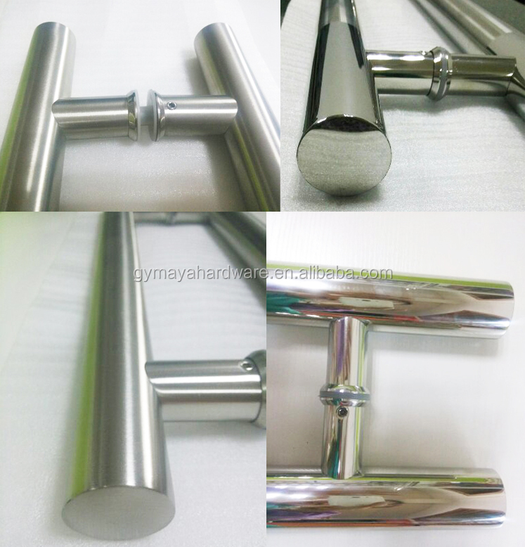 SSS,PSS or SSS+PSS Surface Glass Door Pull Handle (MY-9811)