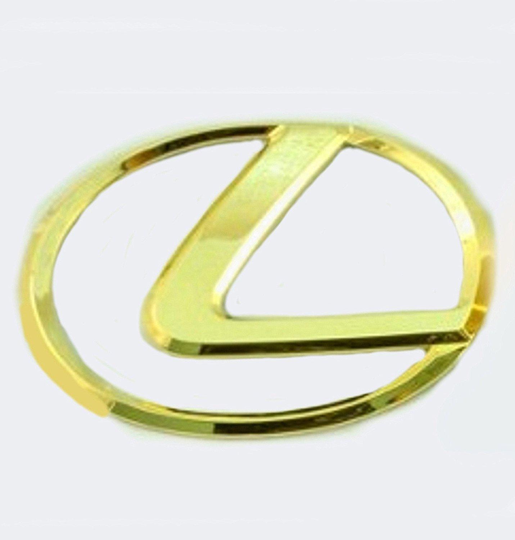 1998-2000 LEXUS 24KT GOLD PLATED GS400 EMBLEM KIT FOR