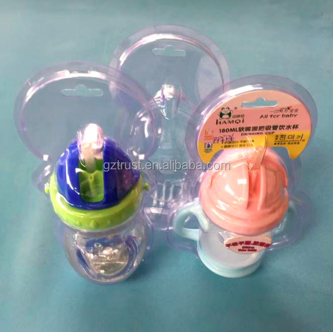 Guangzhou Factory Clear Plastic Interactive PET Blister Packages For Food