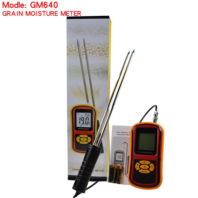 Messung Und Analyse Instrumente Werkzeuge Smart Sensor Handheld Lcd Digitale Getreide Feuchtigkeit Meter Hygrometer Mit Mess Sonde Für Mais Weizen Reis Bean