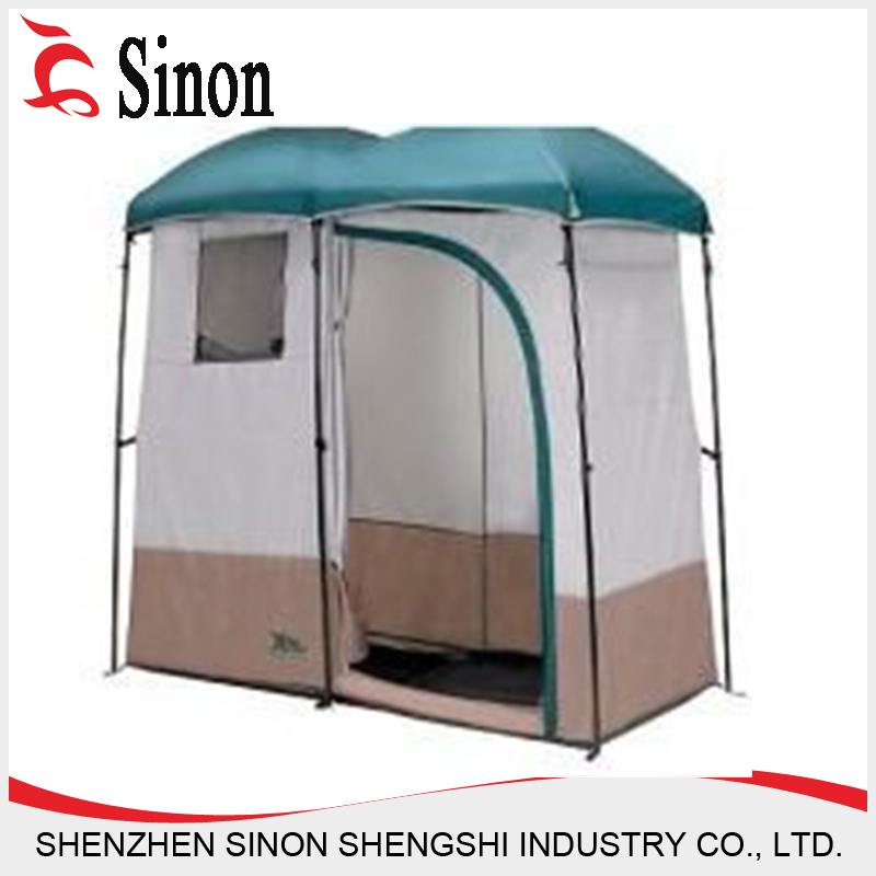 double shower tent portable c&ing toilet tent changing tent  sc 1 st  Shenzhen Sinon Shengshi Industry Co. Ltd. - Alibaba : outdoor toilet tent - memphite.com