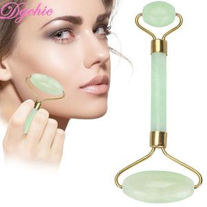 Anti Aging facial roller 100% Natural jade double Neck Healing Slimming Massager