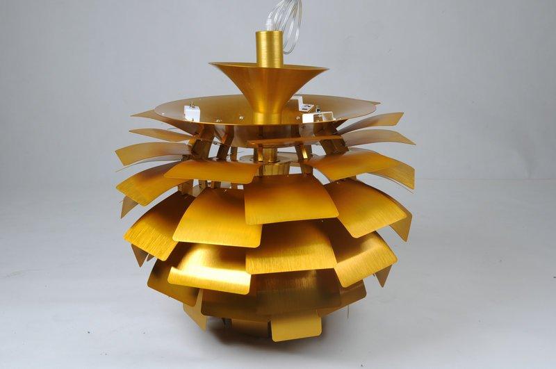 artischocke lampe in gestaltet von poal henningsen 1958 die artischocke lampe ist ein. Black Bedroom Furniture Sets. Home Design Ideas