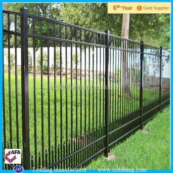 aluminum fenceround galvanized metal fence metal fence panels
