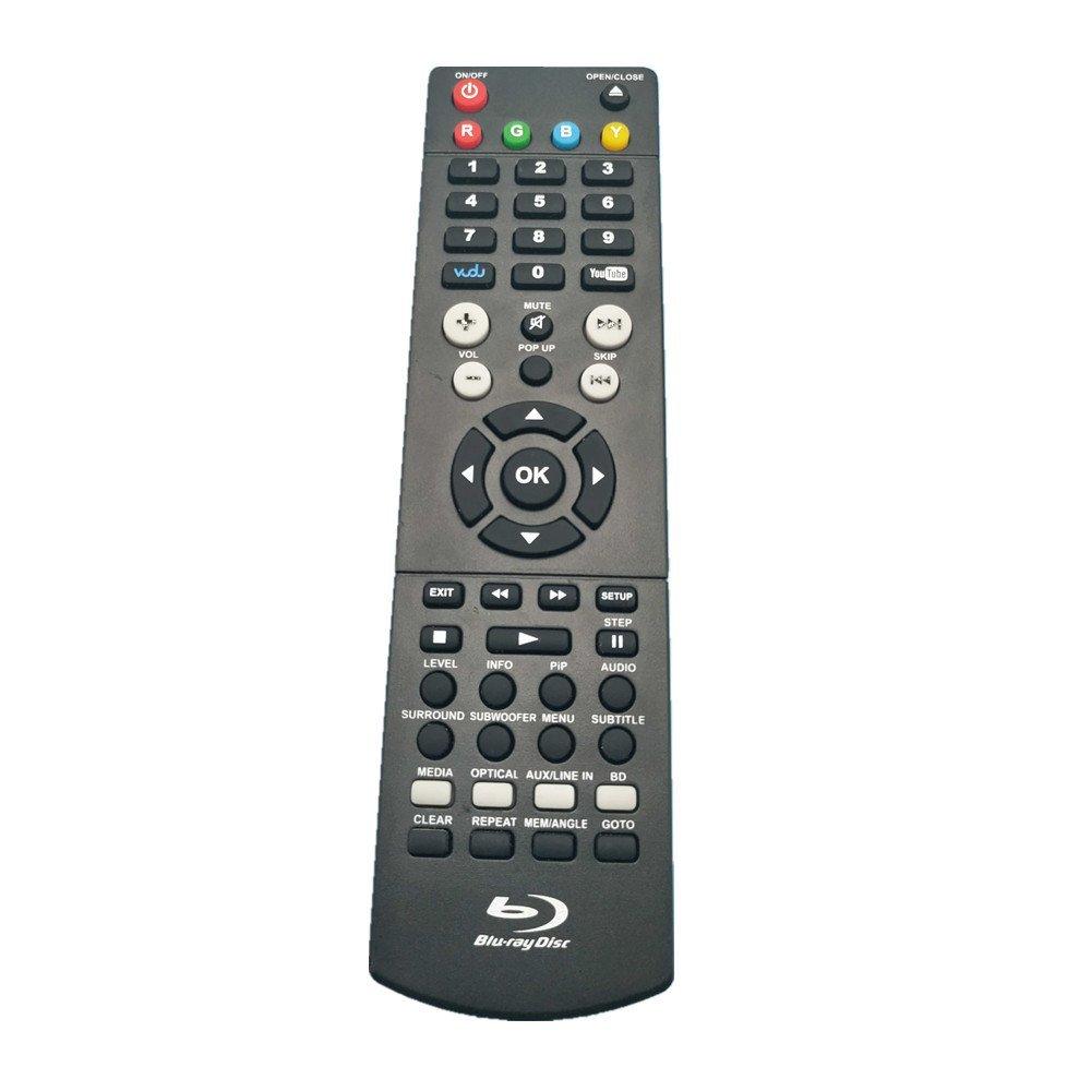 Rlsales Universal Remote Control for RCA Blu-Ray Disc RTB10223 RTB10220  RTB10323LW