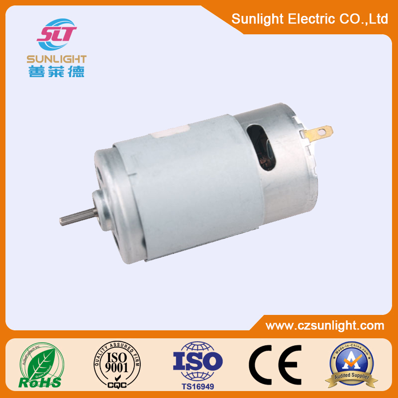 Low cost offer 385 555 small dc motor