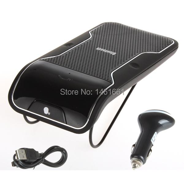 Беспроводная автомобиль kit солнцезащитный козырек bluetooth громкой связи автомобиль комплект для iPhone samsung смартфон