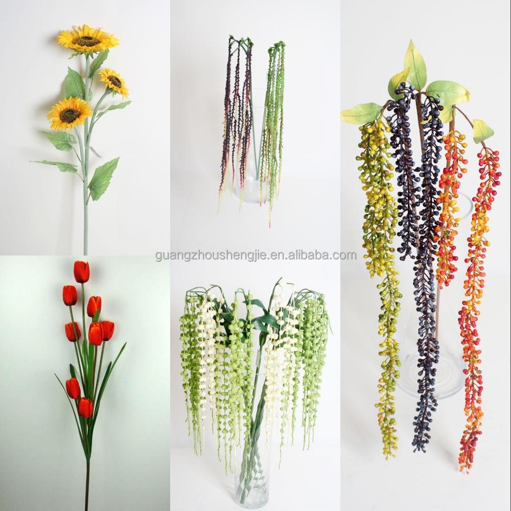 Sjh121619 Artificial Flowers Dendrobium Orchids Plastic Orchid Flower Factory