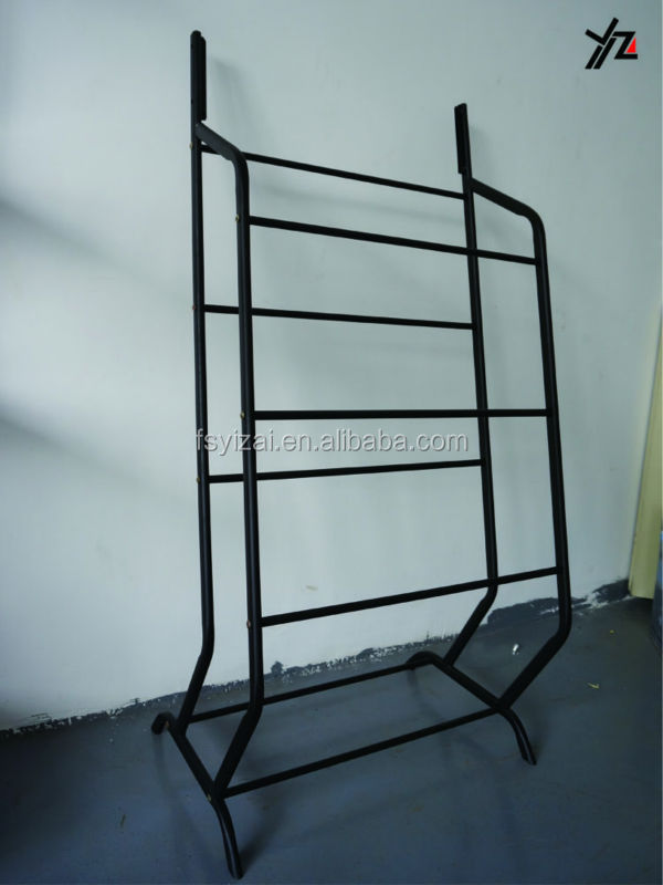 Metal Customizable belt display stands/Tie /Scarf Display Rack for retail Hanging items