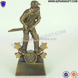 Antique resin cricket trophies made in China