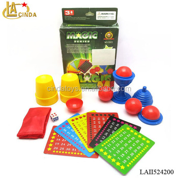 Stage Performance Magic Props Plastic Toys Easy Card Magic Tricks