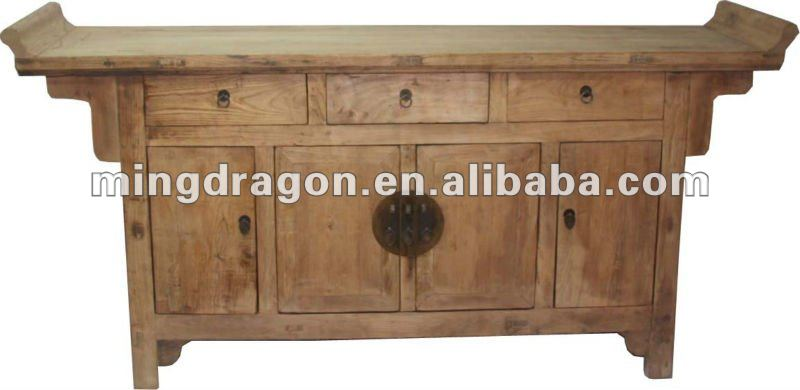 Chinese antique Console Cabinet - Chinese Antique Console Cabinet - Buy Antique Wooden Cabinet,Hand