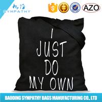 Black Rock Music Printing Cotton Canvas Tote Bag