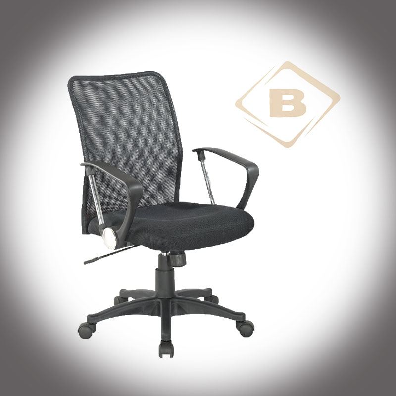 Executive Modern Ergonomic Swivel Original Mesh Office Chair with Chromed+PP Armrest
