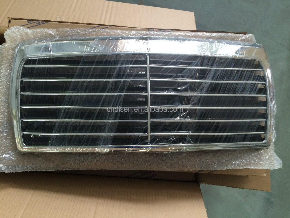 car grille grill for mercedes benz w124 e class 1985 1996. Black Bedroom Furniture Sets. Home Design Ideas