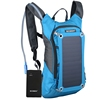 Hot selling cycling converter laptop zipper solar backpack