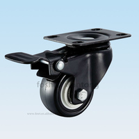 High End Office Wheel Furniture Chair Casters With Double Brake