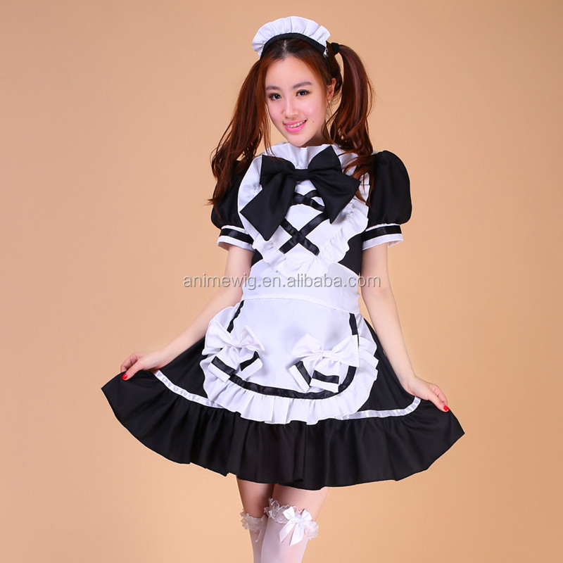 Sexy japanese maid cosplay sex pity, that