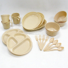 Eco-friendly camping picnic Plastic Dinner Sets