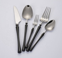 FREE SAMPLE NO MOQ Knife Fork Spoon Hot Selling Stainless Steel Flatware Rose Gold Plated Cutlery