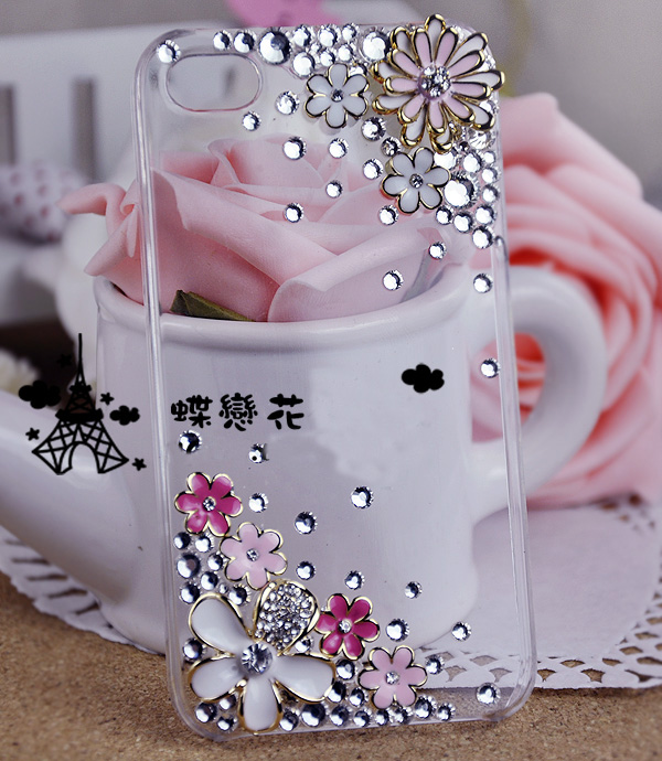 Simple Fashion Diamond Cover Mobile Phone Case For Apple Phone ...