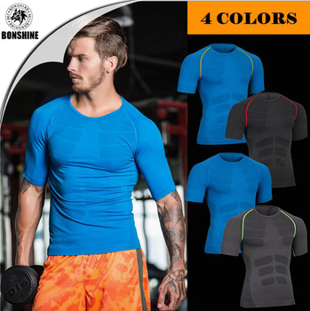Shaping Plastic Shirt Soft breathable Quick drying Clothes Short sleeved MA06