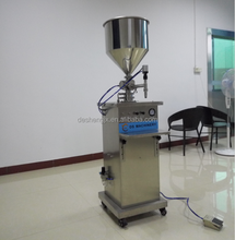 semi automatic vertical type pneumatic liquid soap/ hair shampoo/ bodylotion filling machine ( 6--1000ML)