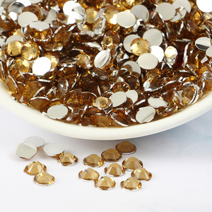 Wholesale Non hot fix resin lct flat back rhinestones in bulk