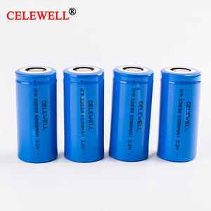 High Capacity BIS Approved Rechargeable 3.2V 32650 6500mah LiFePO4 Battery for 12V 20Ah Battery Pack