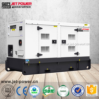 silent soundproof diesel engine electric power 16kva generator