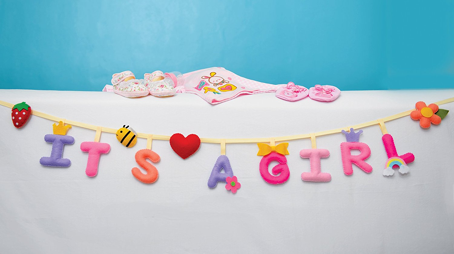 Get Quotations 1set It S A 8 Letters Felt Fabric Includes Heart Strawberry