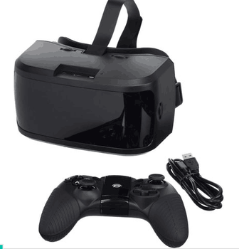 e20ff668d42 link-oq68 Virtual Reality VR Headset All In One No Phone Cables Computer  Black New
