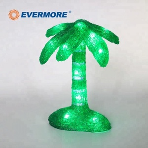 Evermore Acrylic Coconut Tree Led Light for Christmas