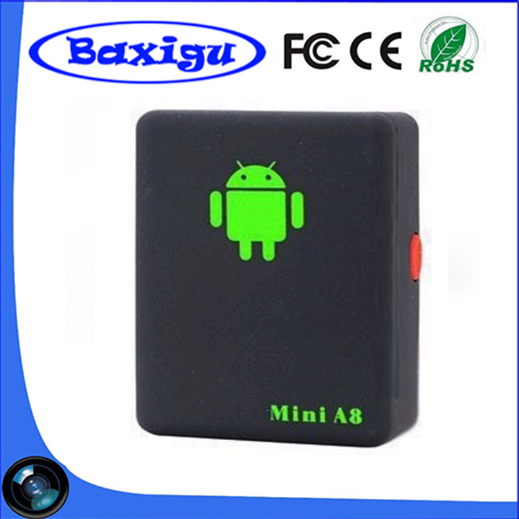 GPRS/GSM/GPS Tracker Motorbike GPS tracker A8 car tracking device with relay ACC detection real time tracking
