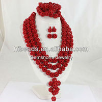 Chunky african fashion jewelry sets AFJS0010