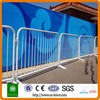 metal Crowd Control Barrier with Belt Railing Queue Pole for sale