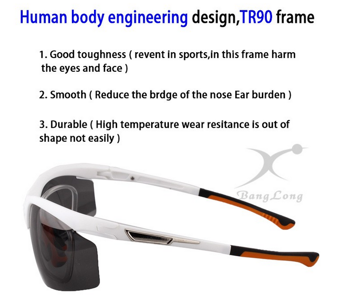 New Products 2016 Cycling eyewear sports bicycle shooting glasses sports myopia sunglasses