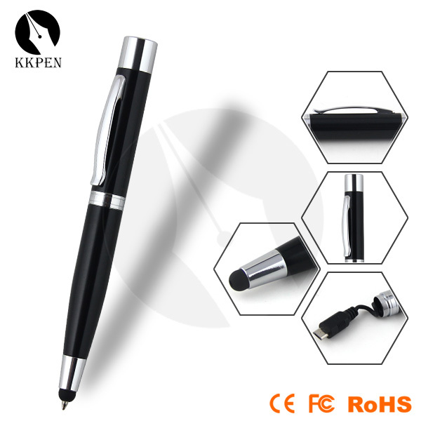 Shibell 3 in 1 ball pen usb data line and phone charger stylus pen