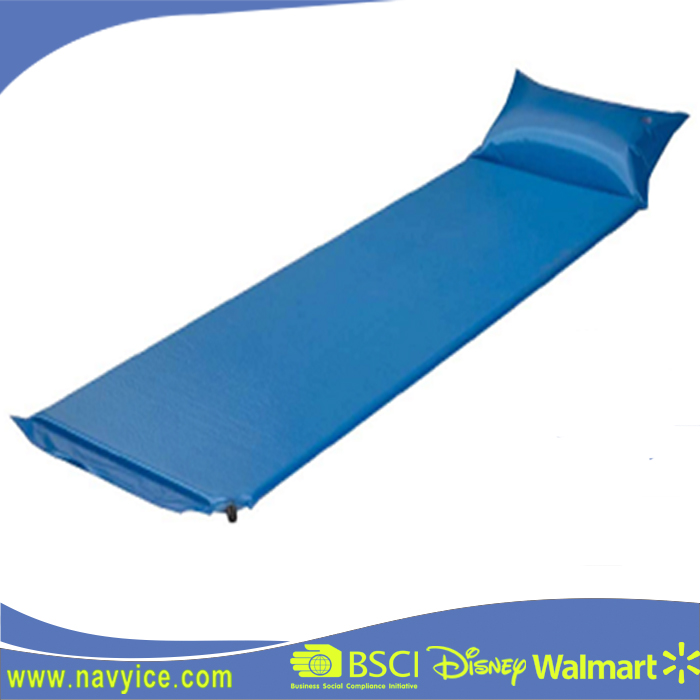 Outdoor Waterproof Self Inflating Camp Tent Inflatable Sleeping Mat Pillow Air Bed Roll Matress Pad