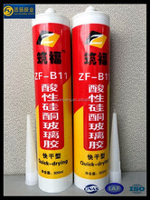 Trade Assurance Rtv Adhesive Acetic Cure Silicone Sealant