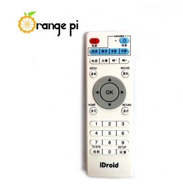 android remote controller for integrated circuits orange pi pc development board