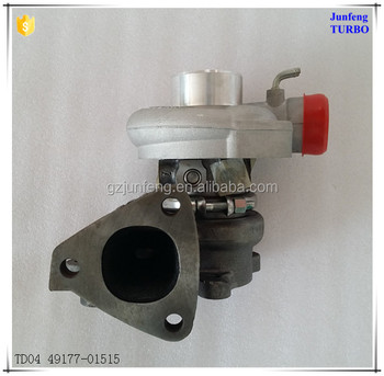 Turbo Charger Used For Mitsubishi Delica L300 2 5 Td 4d56 Engine Parts  49177-01515 49177-01513 Tdo4 Turbocharger - Buy Turbo Charger Used For