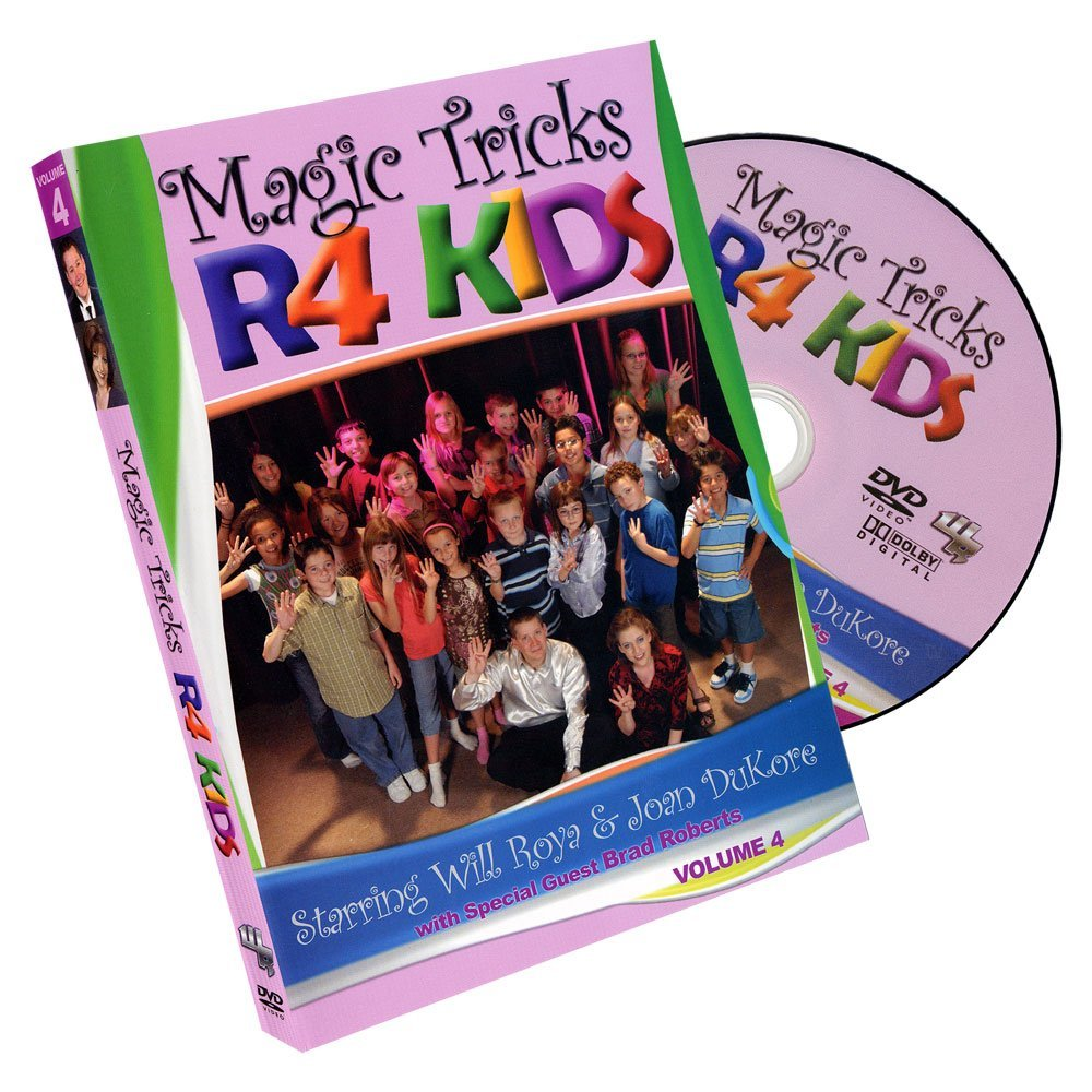MMS Magic Tricks R 4 Kids - Volume 4 by Will Roya and Joan DuKore - DVD