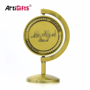Crafts Manufacturer Custom Rotatable Award Gold Metal Sport Medal With Metal Medal Seat