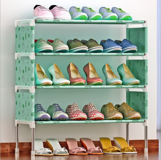 Shoe Rack Nonwovens Easy To Install Multi Layer Shoe Cabinet Shelf Storage  Organizer Stand Holder Space Saving 35 Color Optional   Buy Shoe Storage ...